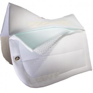 Ecogold CoolFit™ Dressyr Pad - Vitt Ecogold CoolFit™ Dressyr Pad