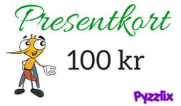 Pyzzlix Presentkort 100 kr - Pyzzlix Presentkort 100 kr