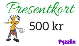 Pyzzlix Presentkort 500 kr - Pyzzlix Presentkort 500 kr
