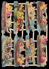 Bokmärke - Blomsterbåt - Bokmärke - Blomsterbåt