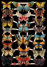 Bokmärke - Fjärilar - Bokmärke - Fjärilar