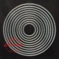 Gummiapan Dies - Stitched Circles
