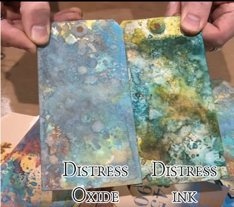 Pyzzlix Distress Oxide - Peeled Paint - Tim Holtz/Ranger