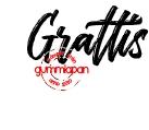 Gummiapan Stämpel - Grattis