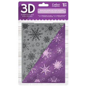 Crafters Companion Embossingfolder - Sparkling Snowflake - Crafters Companion Embossingfolder - Sparkling Snowflake