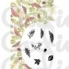 Majestix Card-io Clearstamp - Autumn Wreath