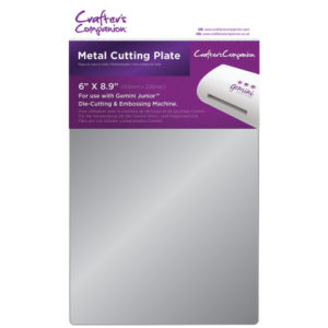Crafters Companion Gemini Junior Accessories - Metal Cutting Plate - Crafters Companion Gemini Junior Accessories - Metal Cutting Plate