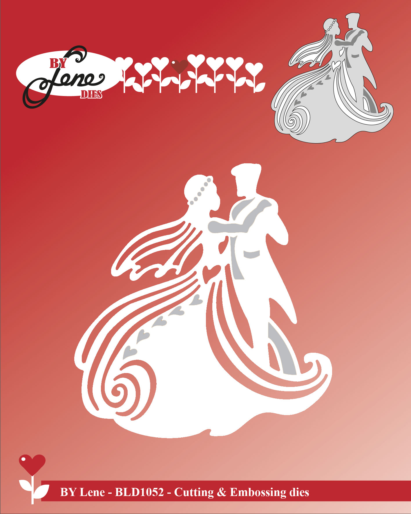 by  Lene - Dies - Dancing Wedding Couple BLD1052