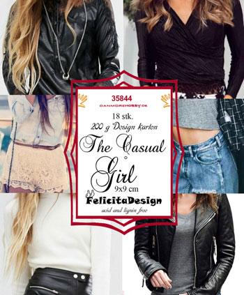 Felicita Design Toppers - The Casual Girl 35844
