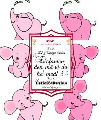 Felicita Design Toppers - Elefanten den må vi da ha med 3 35841