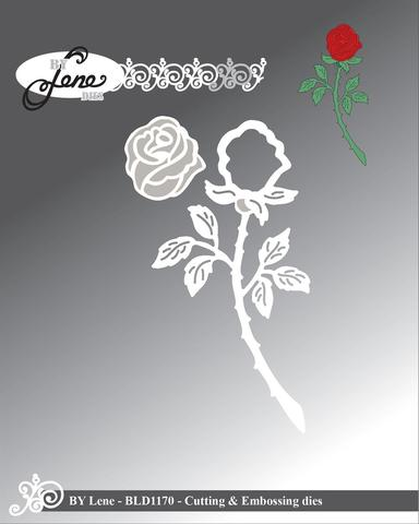 by Lene - Dies - Rose BLD1170