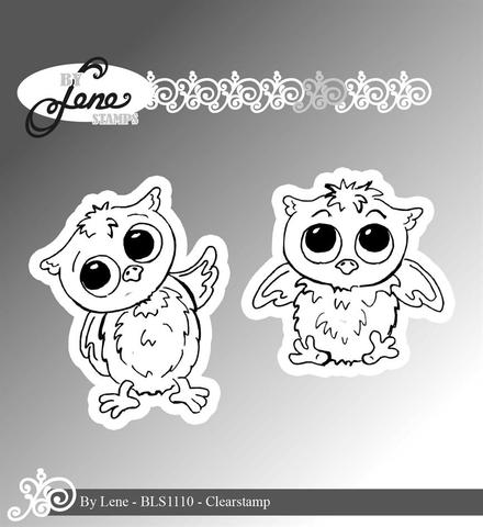 by Lene - Clearstamp - Owls-1 BLS1110