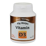 D-vitamin D3, 50 µg / 2000 IE, 150 tabl. - D-vitamin D3, 50 µg / 2000 IE, 150 tabl.
