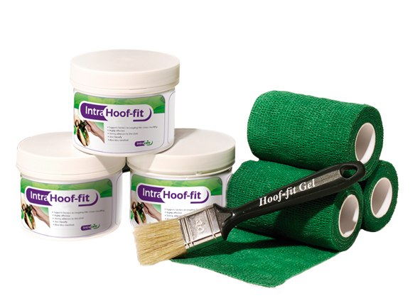 IntraHoof-fit gel