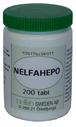 NELFAHEPO - NELFAHEPO 200 tabletter á 500 mg