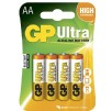 GP Batterier Ultra AA 4-pack - GP Batterier Ultra AA 4-pack