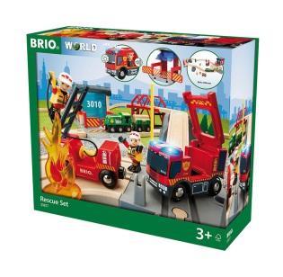 Brio 33817, Tågset med räddningstema - Brio 33817, Tågset med räddningstema