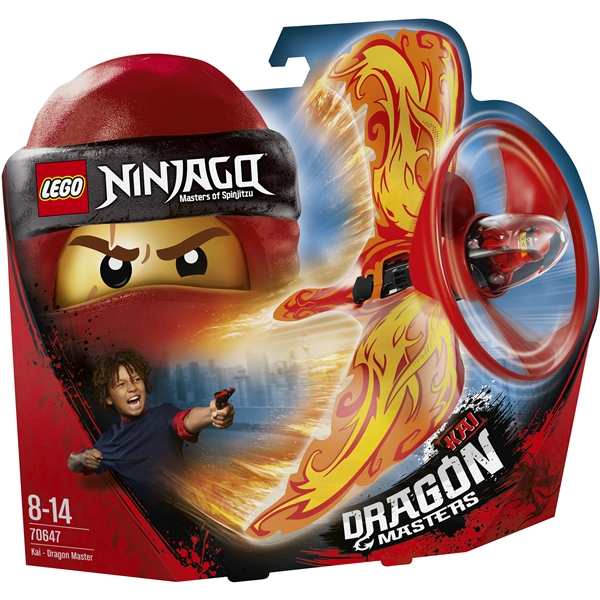 70647 LEGO Ninjago Kai Drakmästare