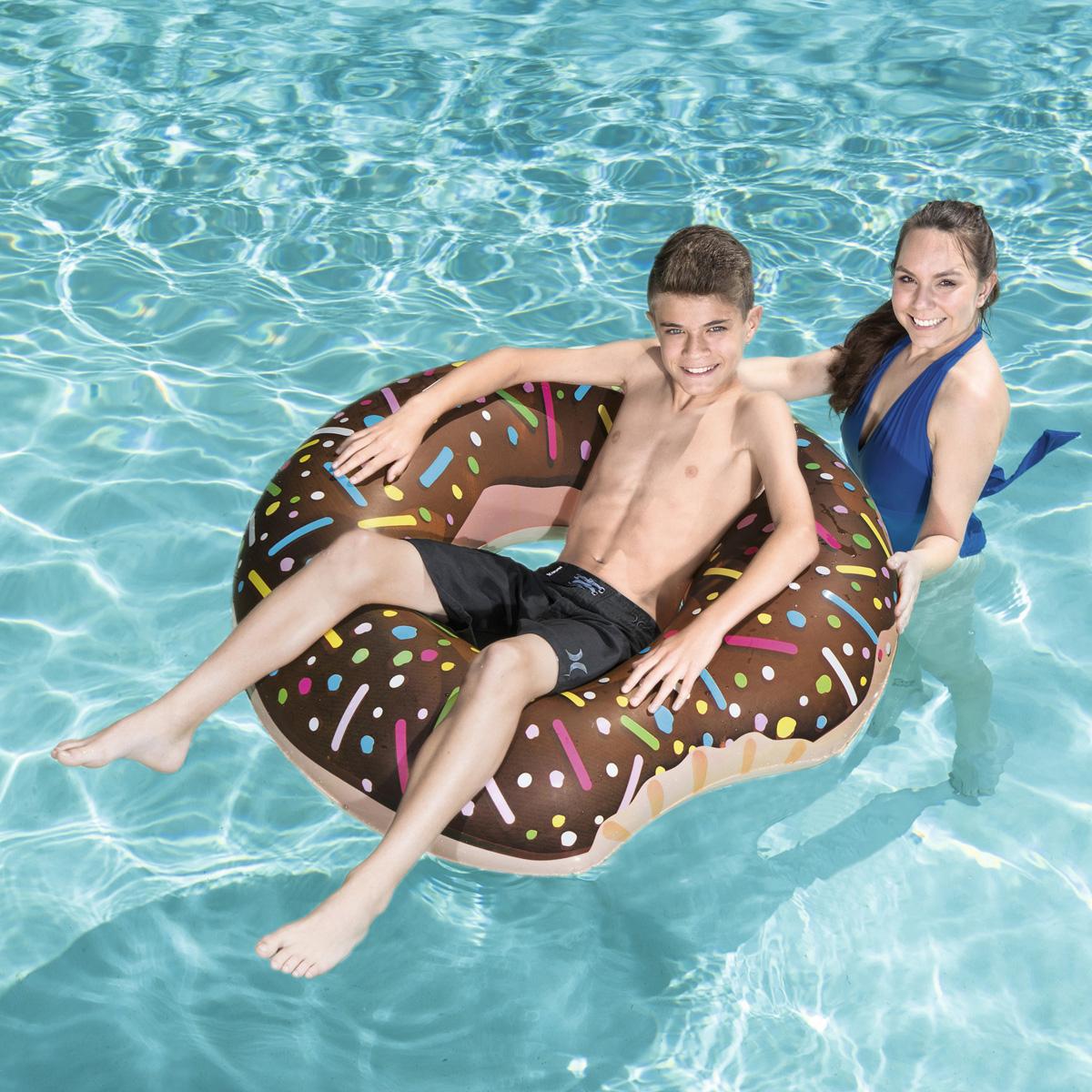 Simring_Choklad_Donut_Munk_107 cm
