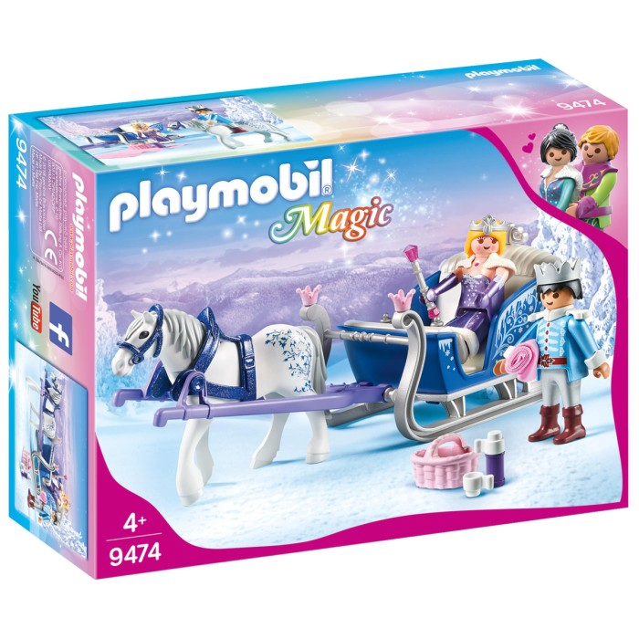 playmobil_magic_släde_med_kungligt_par_9474