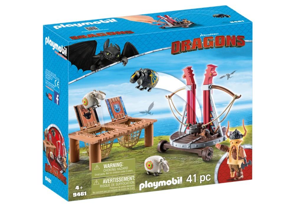 playmobil_dragons_gape_rapkäft_med_fårsele_9461