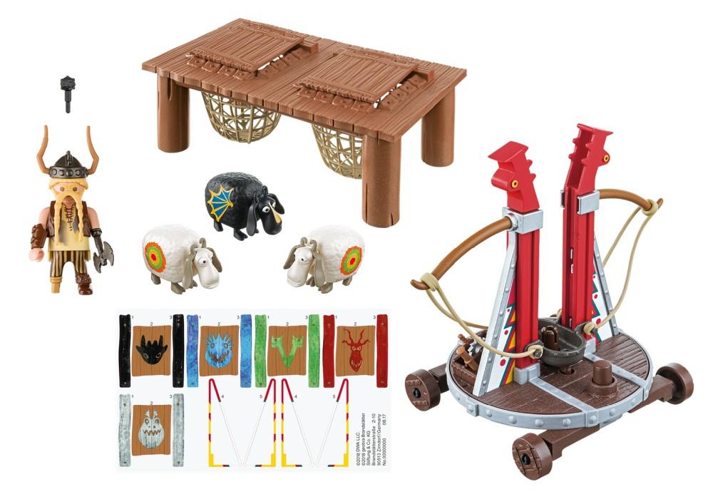 playmobil-dragons-gape-rapkäft-med-fårsele-9461-1