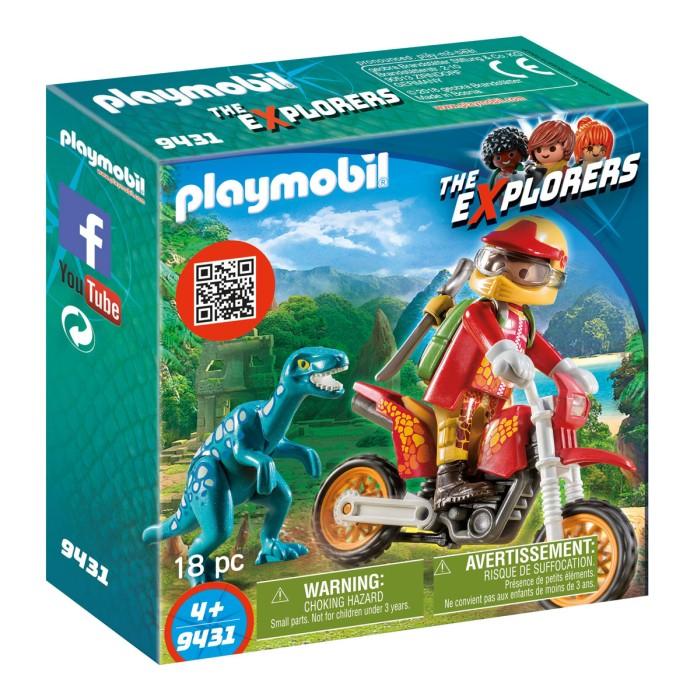 playmobil-dinos-motocrosscykel-med-raptor-9431-0
