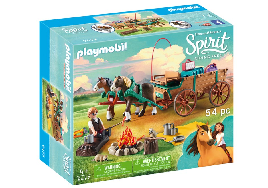 playmobil_spirit_luckys_pappa_och_vagn_9477