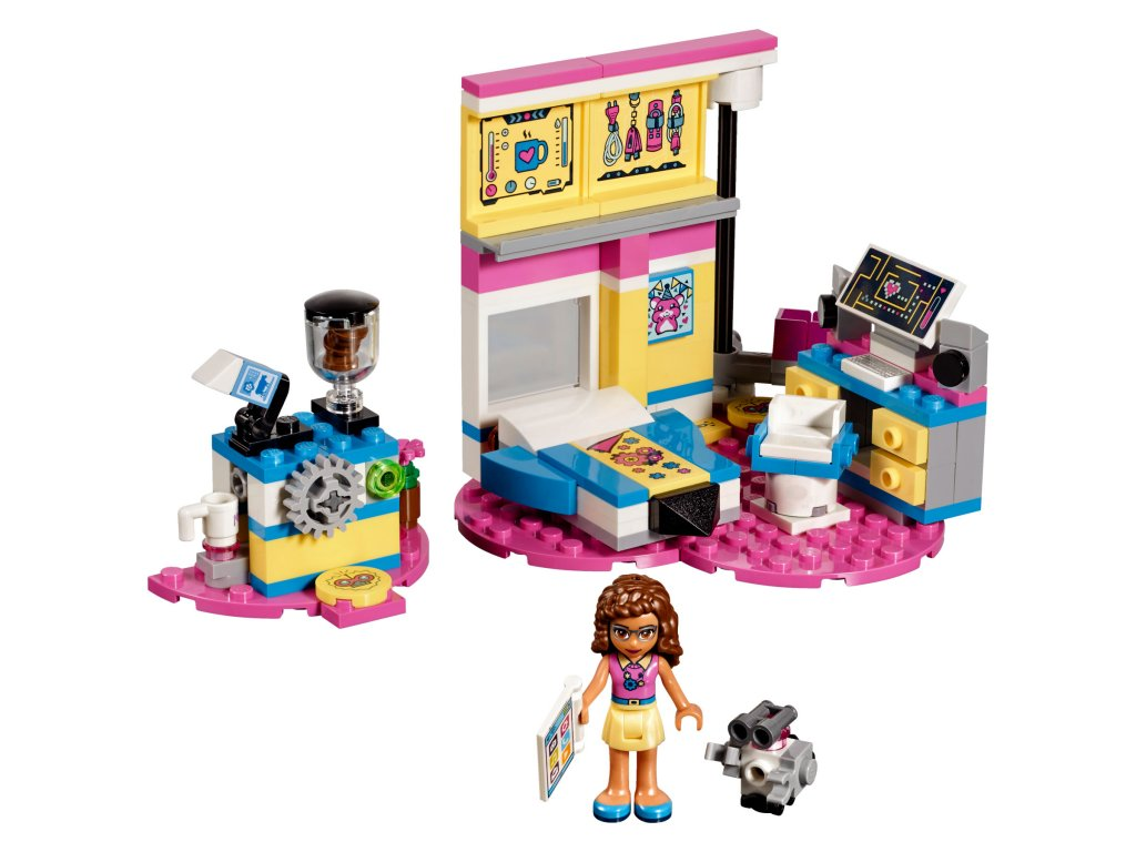 41329_Olivias_Lyxiga_Sovrum_Lego_friends