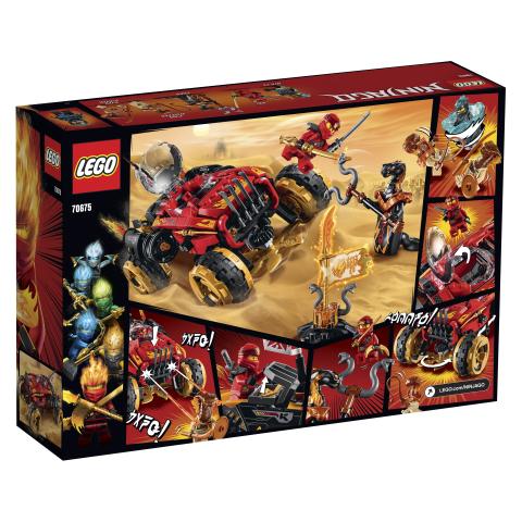 70675_Katana_4x4_LEGO_Ninjago 8+