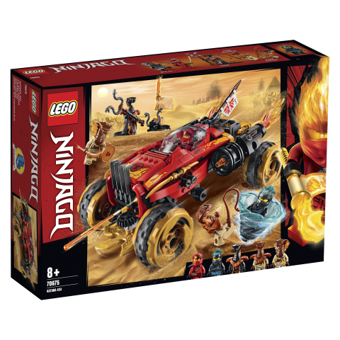 70675 Katana 4x4 LEGO Ninjago 8+