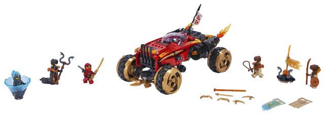 70675 Katana 4x4 LEGO Ninjago 8+_Ninjago