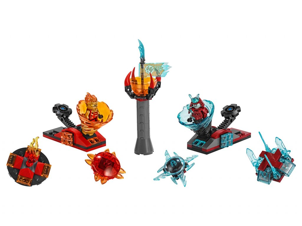 LEGO Ninjago Spinjitzu Slam Kai mot Samurai 70684_Lego