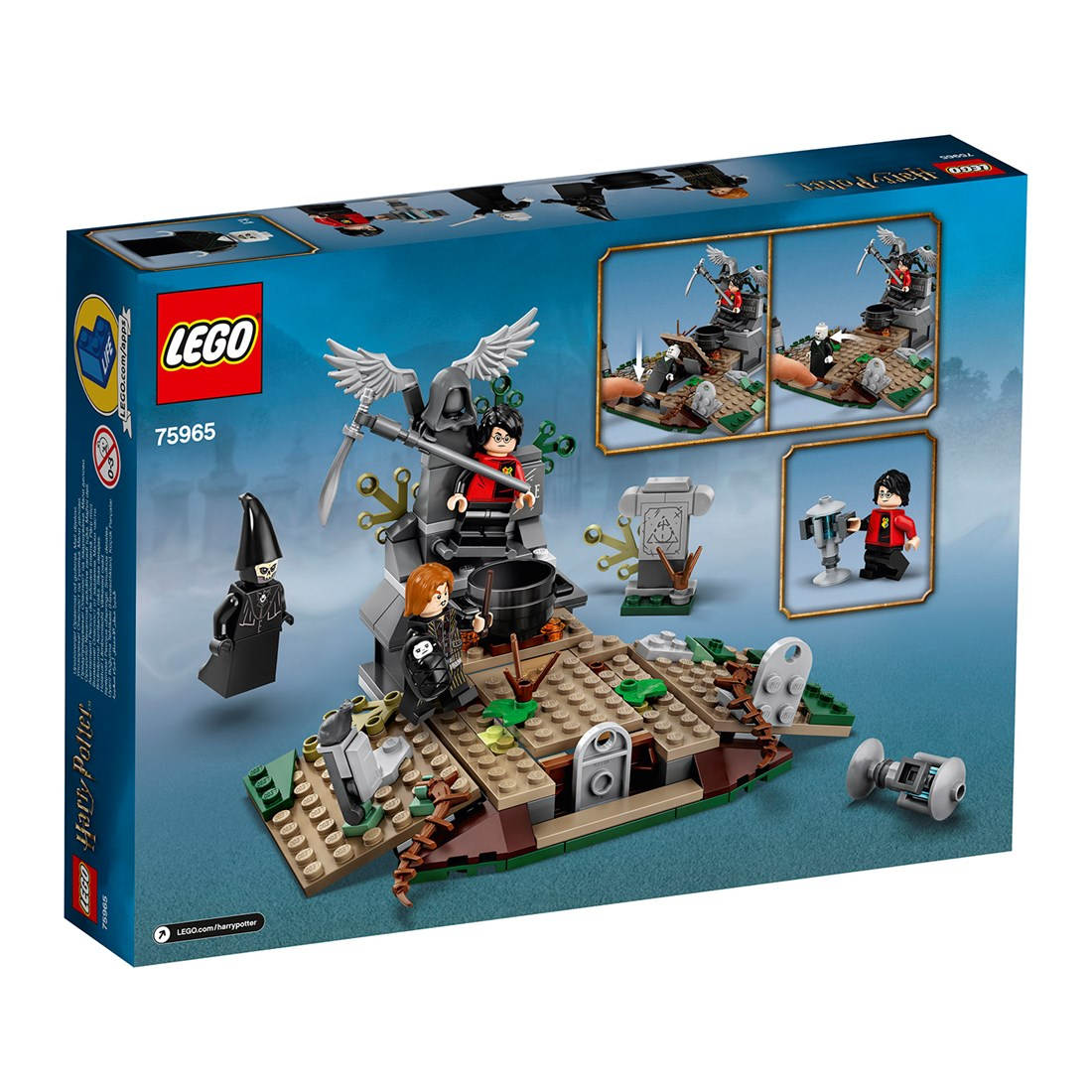 75965 LEGO® Harry Potter™ Voldemorts Återkomst
