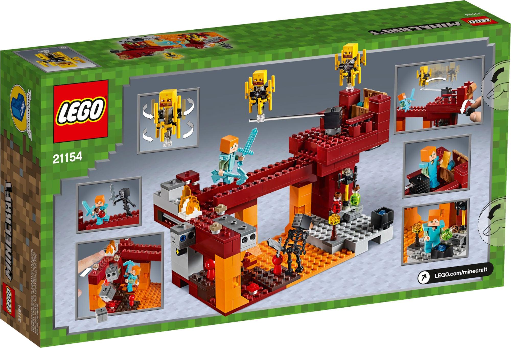 LEGO Minecraft 21154 Den_Flammande_Bron