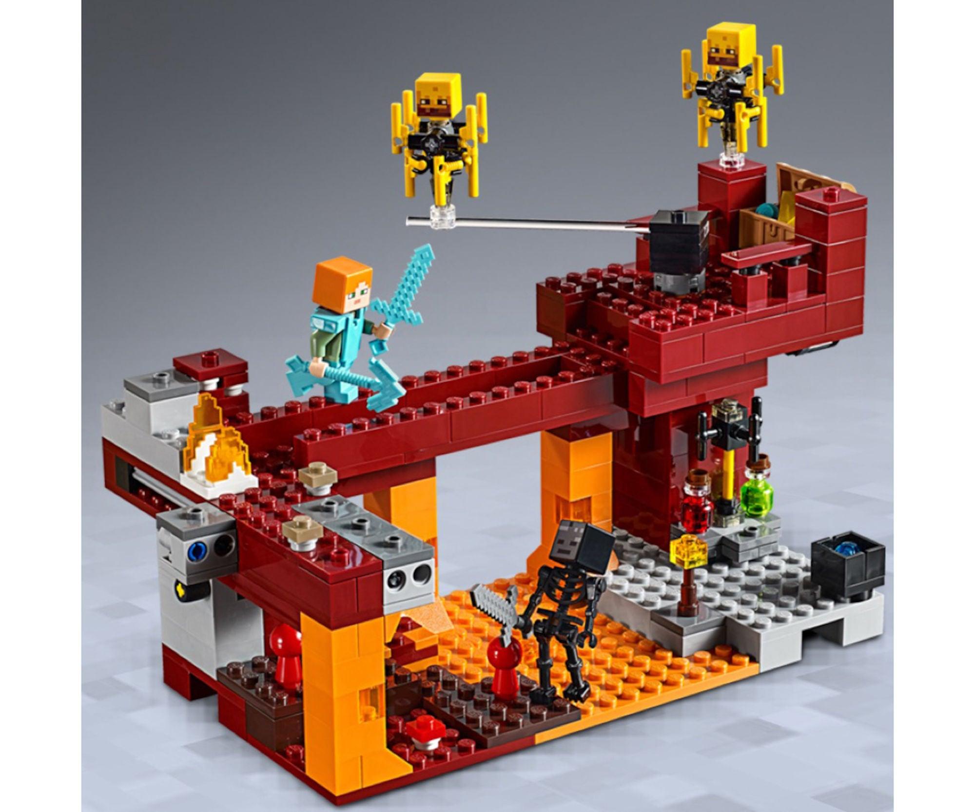 LEGO Minecraft 21154_Den Flammande Bron