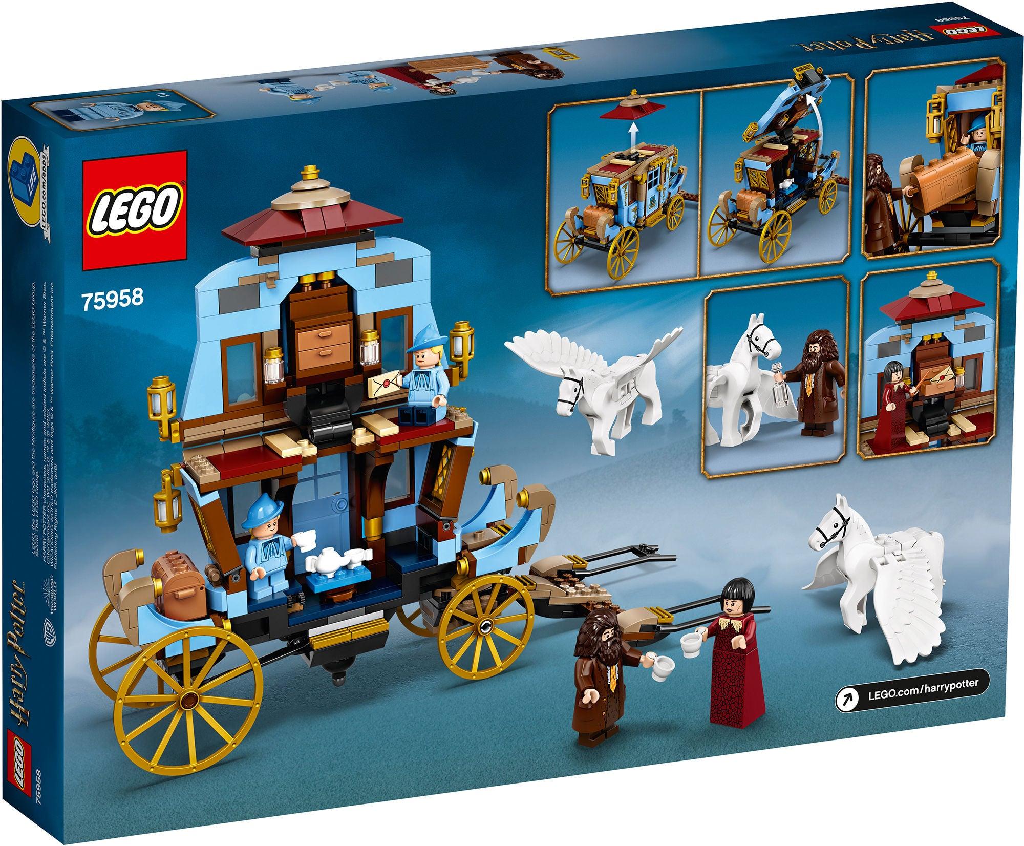 LEGO Harry Potter_75958_Beauxbatons Vagn Ankomsten_till_Hogwarts