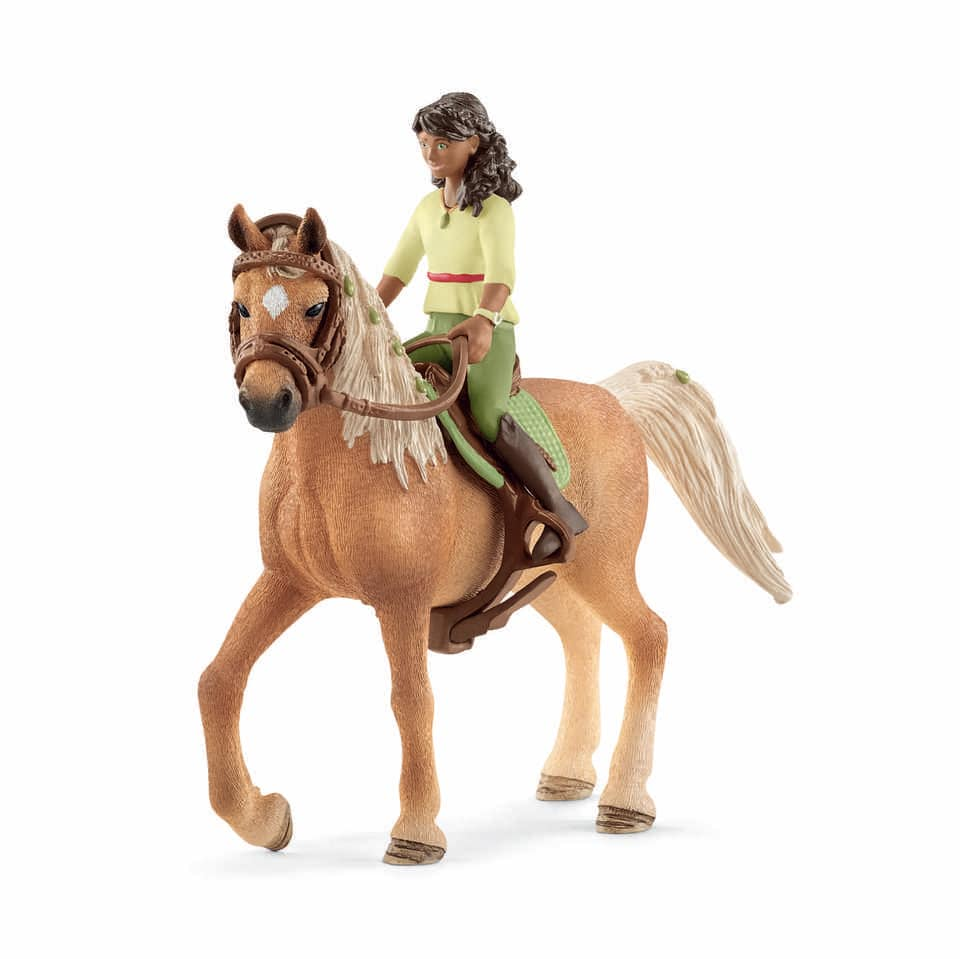 schleich_horse_club_sarah_amp_mystery_42517_nyhet