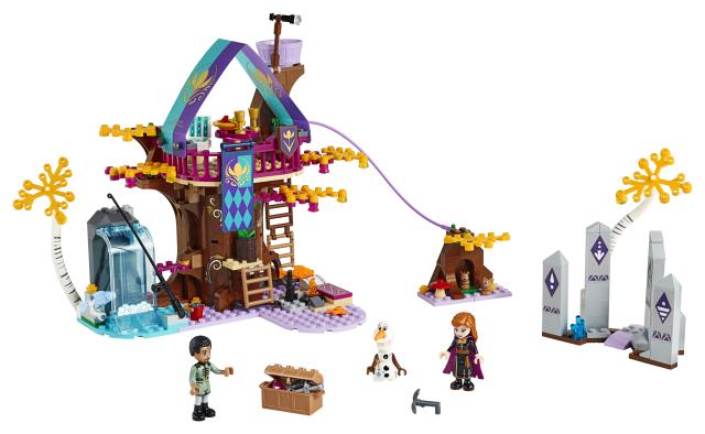 41164_Frost_Lego_Två_Nyhet_Ronneby_Lekextra_Förtrollad_trädkoja_Frozen