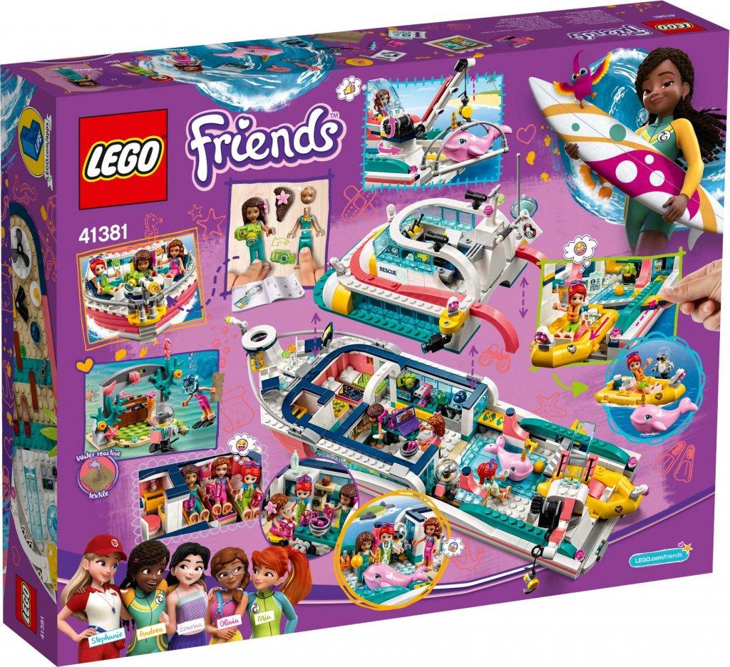 Ronneby_Lego_friends_Räddningsbåt_41381