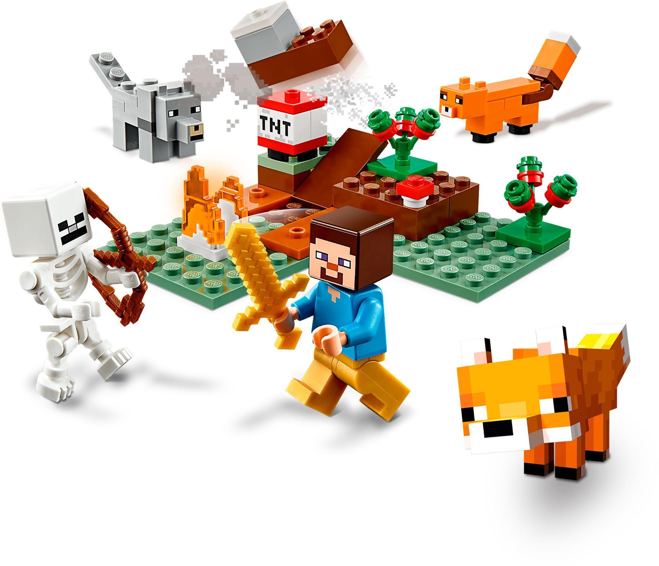 21162 LEGO Minecraft Tajgaäventyret