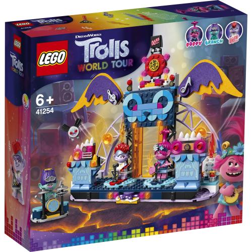 41254 LEGO Trolls Konsert i Volcano Rock City