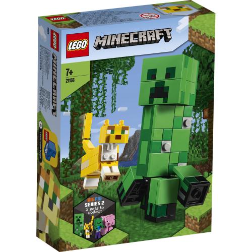 21156 LEGO Minecraft BigFig Creeper™ och ozelot
