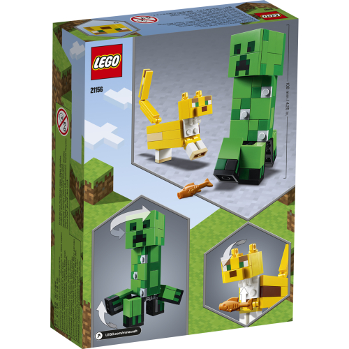 21156_LEGO_Minecraft_BigFig Creeper™ och ozelot
