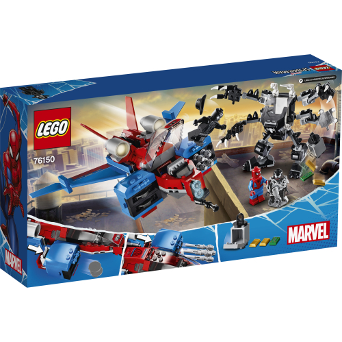 76150_LEGO_Super_Heroes_Spiderjet mot Venoms robot