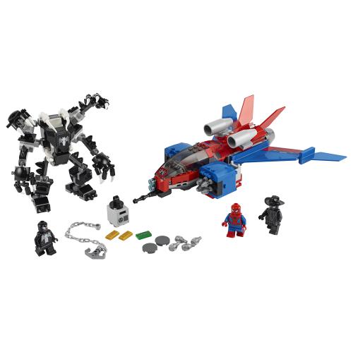 76150_LEGO_Super_Heroes Spiderjet mot Venoms robot