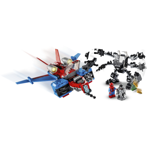 76150 LEGO Super Heroes Spiderjet mot Venoms robot_Ronneby