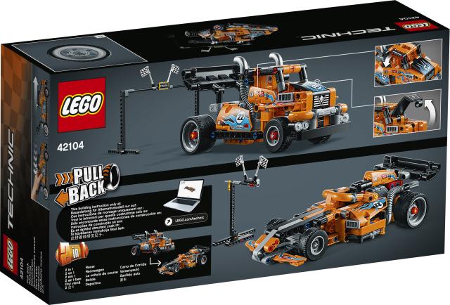 42104 Racerlastbil LEGO technic_Lekextra