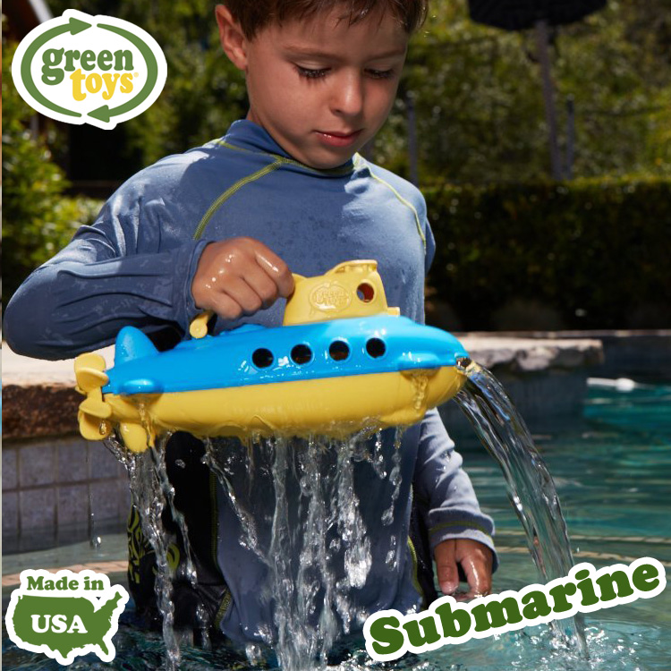 SUBA-1034_Ubåt_Green_Green_Toy_Tactic_Submarine