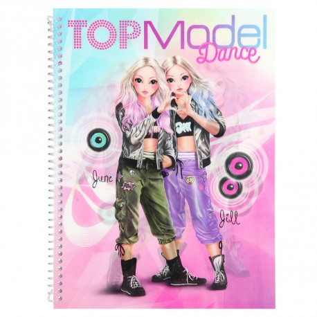_top_model_dance_designbok_